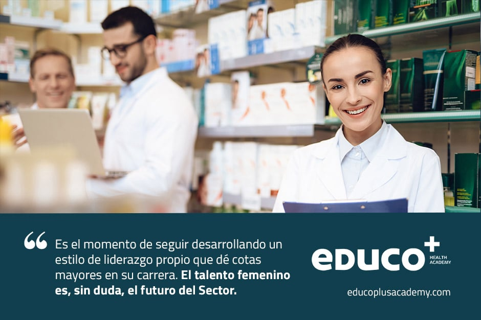 El liderazgo femenino en el sector farmacéutico en números