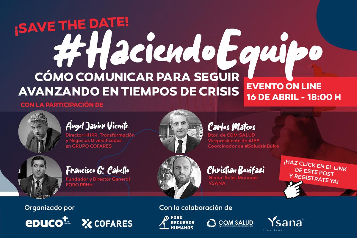 #HaciendoEquipo: Cómo comunicar para seguir avanzando en tiempos de crisis