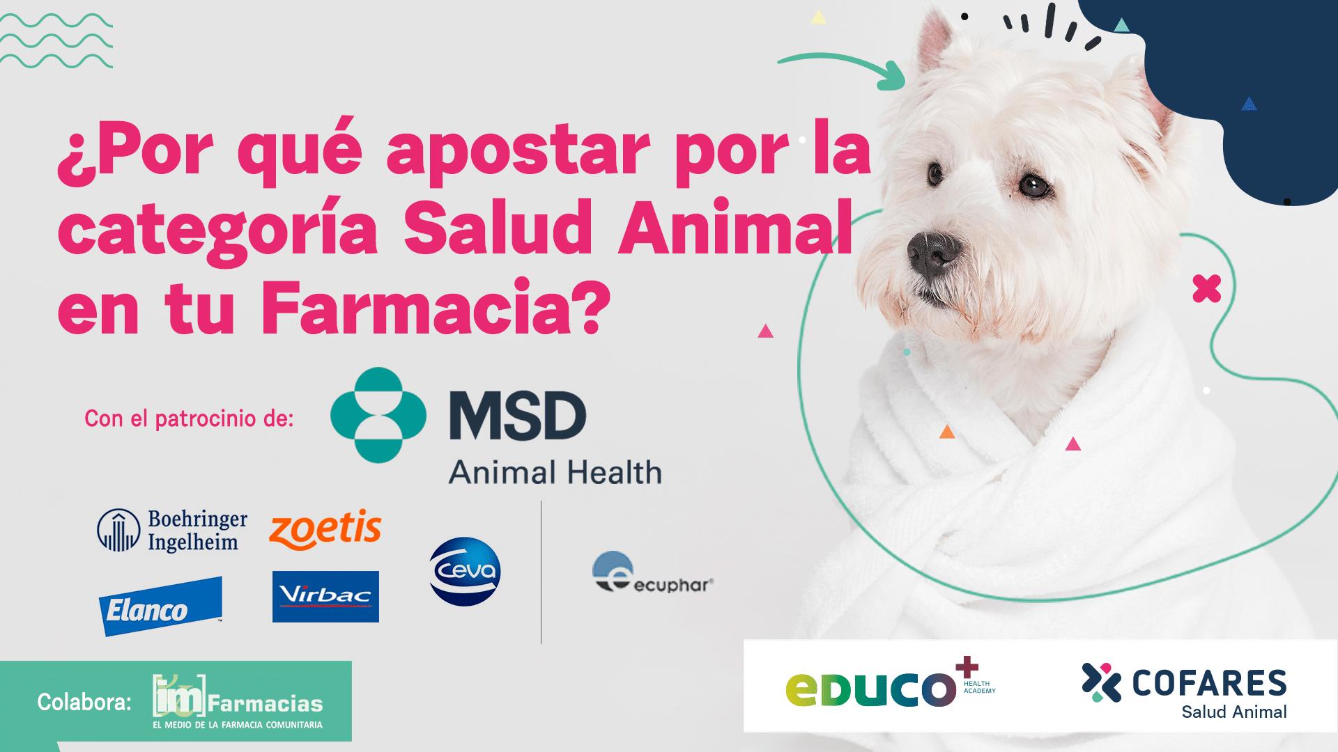 Es hora de apostar por la categoría de Salud Animal en la farmacia